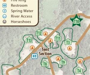 Tent Site T10