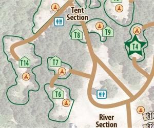 Tent Site T4