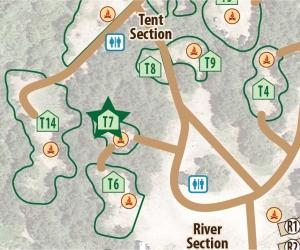 Tent Site T7