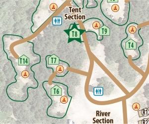 Tent Site T8