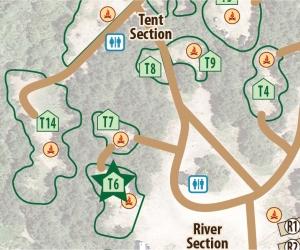 Tent Site T6